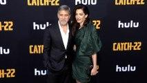 "George Clooney and Amal Clooney ""Catch 22"" Premiere Black Carpet"