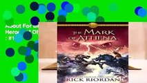 About For Books  The Mark of Athena (The Heroes of Olympus, #3)  Best Sellers Rank : #1