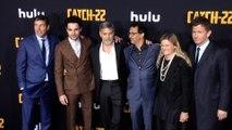 "George Clooney, Kyle Chandler, Christopher Abbott ""Catch 22"" Premiere Black Carpet"