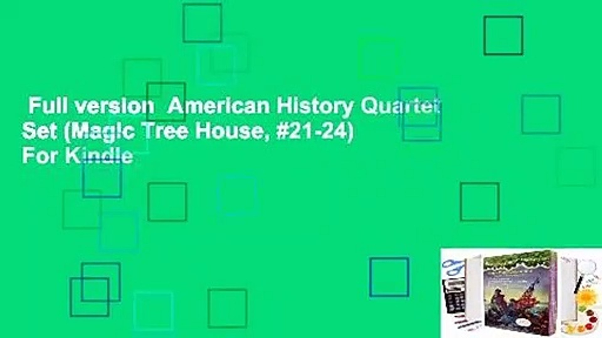 Full version  American History Quartet Set (Magic Tree House, #21-24)  For Kindle