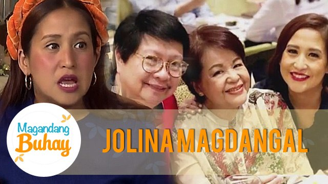 Jolina tells how an episode of Magandang Buhay made an impact to her life   Magandang Buhay