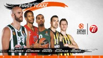 2018-19 All-EuroLeague First Team presented by 7DAYS