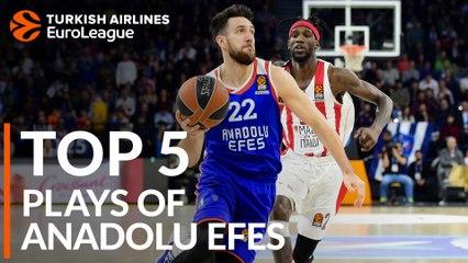 Anadolu Efes Istanbul - Top 5 Plays