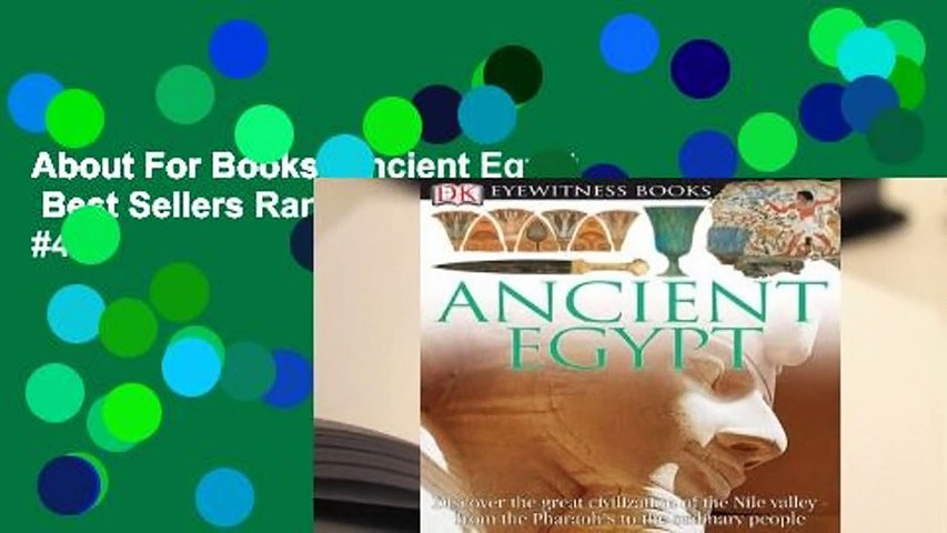 About For Books Ancient Egypt Best Sellers Rank : #4