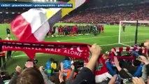 L'ambiance indescriptible à Anfield après la qualification de Liverpool