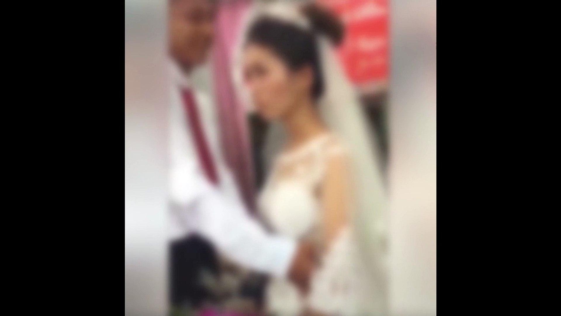nghi ngờ cô dâu bị chồng đánh vì không cho chồng hôn trong lễ cưới