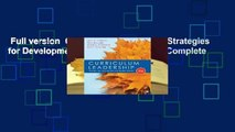 Full version  Curriculum Leadership: Strategies for Development and Implementation Complete