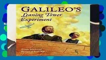 [MOST WISHED]  Galileo s Leaning Tower Experiment (Junior Library Guild Selection (Charlesbridge