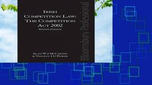 Irish Competition Law: The Competition Act 2002