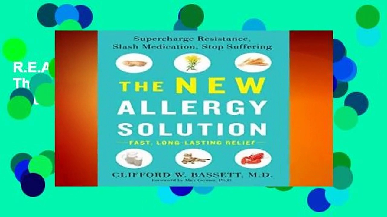 R.E.A.D New Allergy Solution, The Supercharge Resistance, Slash Medication, Stop Suffering