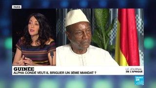 Un 3eme mandat pour Alpha Conde en Guinee
