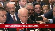 Devlet Bahçeli YSK'nın İstanbul Kararını Değerlendirdi