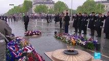 Commémorations du 8 mai 1945 : la Marseillaise interprétée par le chœur de l'Armée française