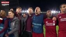 Liverpool : l'incroyable communion des joueurs avec le public après la victoire contre le Barça (vidéo)