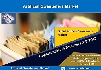 Artificial Sweeteners Market Growth