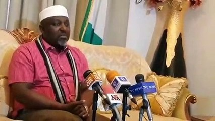 Governor Rochas Okorocha speaks on his non-issuance of certificate of return,...