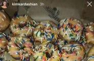 Kim Kardashian West devours huge box of doughnuts morning after Met Gala