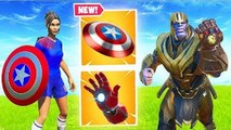 NEW AVENGERS MODE IS AMAZING! - Fortnite Funny Fails and WTF Moments!