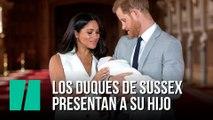 Los duques de Sussex presentan a su hijo