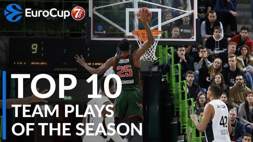 2018-19 7DAYS EuroCup: Top 10 Team Plays!