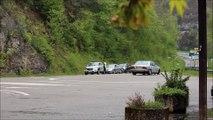 Accident au pont de la Pyle : une voiture s'encastre dans le parapet