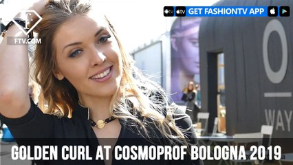 Golden Curl at Cosmoprof Bologna 2019 | FashionTV | FTV