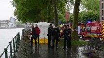 Liège : un homme meurt noyé dans la Meuse quai des Tanneurs