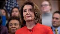 House Speaker Nancy Pelosi Moves Toward Holding AG William Barr In Contempt Of Congress