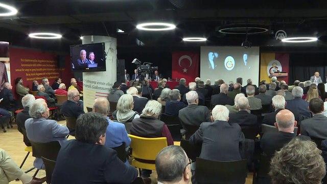 Galatasaray Kulübü Divan Kurulu Toplantısı - Mustafa Cengiz (1) - İSTANBUL