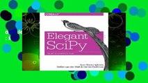 Full version  Elegant Scipy: The Art of Scientific Python  Best Sellers Rank : #3