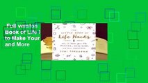 Full version  The Little Book of Life Hacks: How to Make Your Life Happier, Healthier, and More
