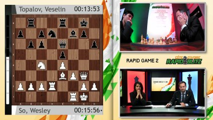 Grand Chess Tour: 2019 Côte d'Ivoire Rapid & Blitz - Rapid Rounds 1-3