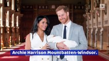 Meghan Markle and Prince Harry Name Their Son Archie