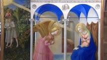 El Prado presenta 'La Anunciación' de Fra Angelico tras su restauración