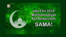 Tanggal Lebaran Idul Fitri 2019