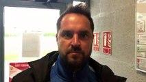 Coupe LAuRA Foot (1/4 de finale) – Romain REYNAUD réagit après l'élimination de HAUTS-LYONNAIS au FC VAL LYONNAIS