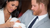 Meghan Markle And Prince Harry Announce Son's Name
