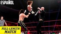 WWE Raw: Seth Rollins & AJ Styles vs. Baron Corbin & Bobby Lashley | Español Latino HD
