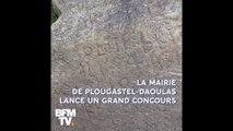 2000 euros offerts à celui qui percera le mystère de la pierre de Plougastel