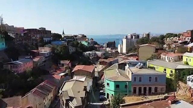 Valparaíso, una galería al aire libre