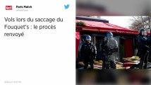 Gilets jaunes. Vol de fourchettes et d'un tabouret lors du saccage du Fouquet's : procès renvoyé au 11 octobre