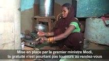 Inde: le 'gaz de cuisine gratuit' de Modi laisse un goût
