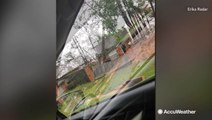 Homes left damaged after severe storm in Longview, Texas
