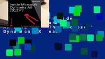 Best product  Inside Microsoft Dynamics AX 2012 R3 - The Microsoft Dynamics AX Team