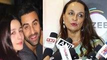 Alia Bhatt's mother Soni Razdan REACTS on Ranbir Kapoor & Alia Bhatt's Lake Como marriage  FilmiBeat