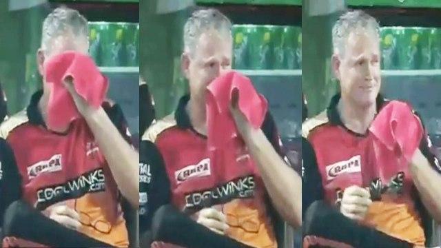 IPL 2019 : SRH Coach Tom Moody cries after defeat from Delhi Capitals | वनइंडिया हिंदी