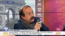 """Philippe Martinez sur les syndicats : """"On n'est pas assez implanté dans les entreprises"""""""