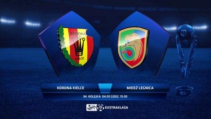 Korona Kielce 0:0 Miedź Legnica - Matchweek 34: HIGHLIGHTS