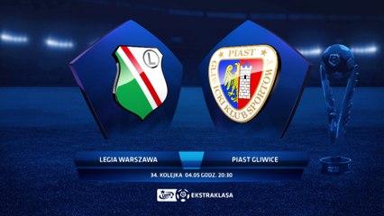 Legia Warszawa 0:1 Piast Gliwice - Matchweek 34: HIGHLIGHTS