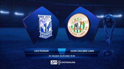 Lech Poznań 1:1 Zaglębie Lubin - Matchweek 34: HIGHLIGHTS